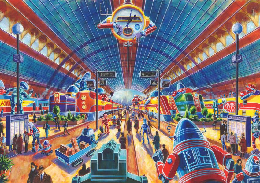 Paul Collicutt S Robot City Tour Central Station